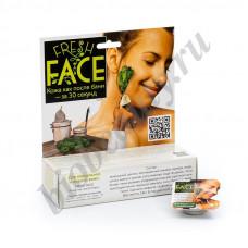 Скраб для лица   FRESH FACE  для нормальной и жирной кожи  БиоБьюти, 18гр