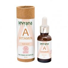 Сыворотка для лица   ВИТАМИН A   отбеливающая   30ml Levrana